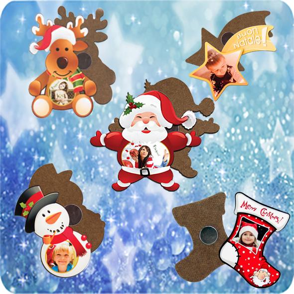 Fényképes Karácsonyi Hűtőmágnesek